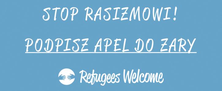 Apel do Zary, Refugees Welcome