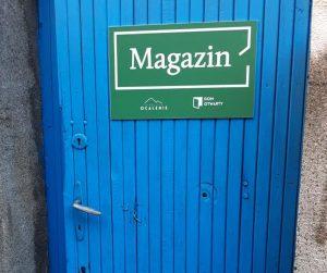 Magazin pomoc rzeczowa dla migrantów w Warszawie