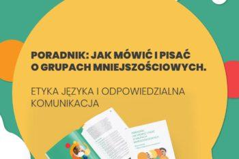 Jak mówić i pisać o grupach mniejszościowych - poradnik